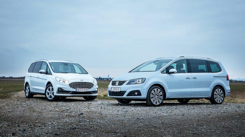 Was vom Minivan blieb: Seat Alhambra und Ford Galaxy