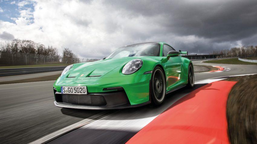 Porsche 911 GT3: Anpressdruckpatrone