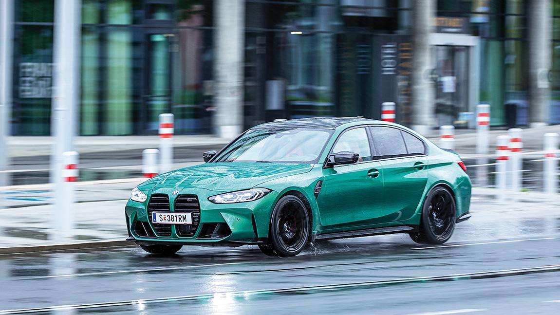 BMW M3 Competition: Klapp, klapp, klapp, klapp und go!