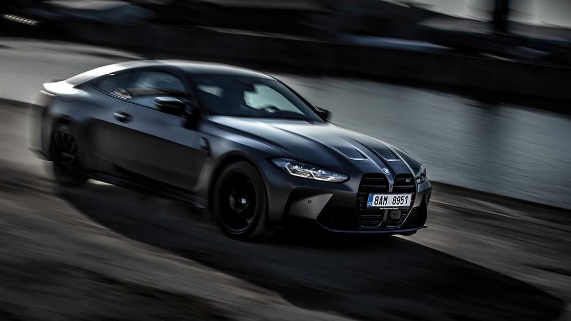 BMW M4 Competition: Ins Gefach verspreizt