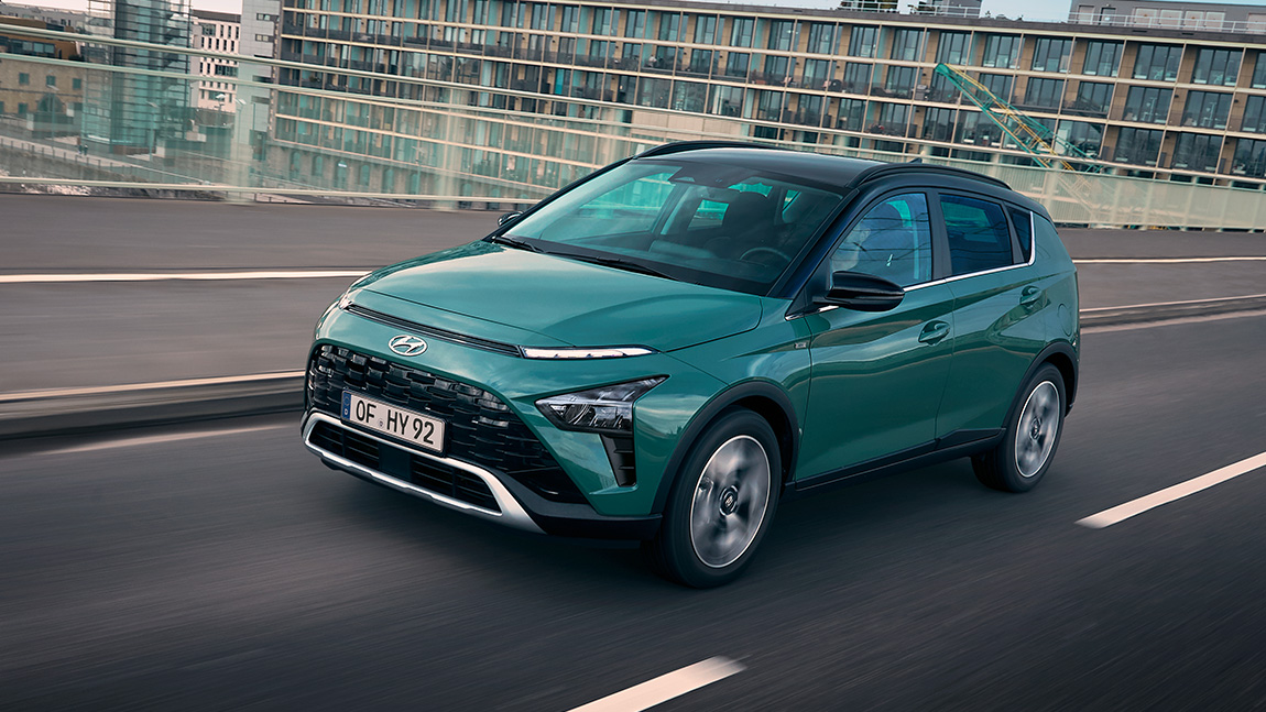 Hyundai Bayon: Auf die Höhe kommt's nicht an