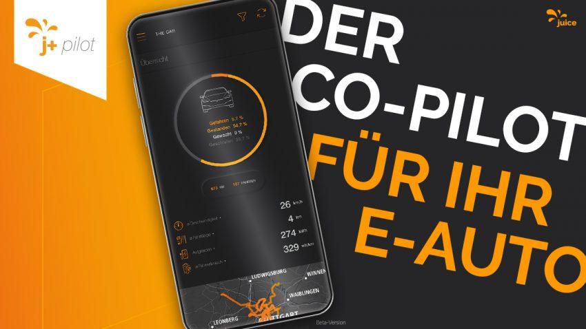 Juice Technology launcht All-in-One-App j+ pilot für E-Automobilisten