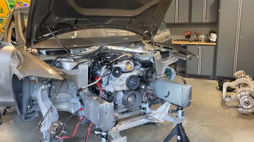 Der Tesla mit Camaro-V8