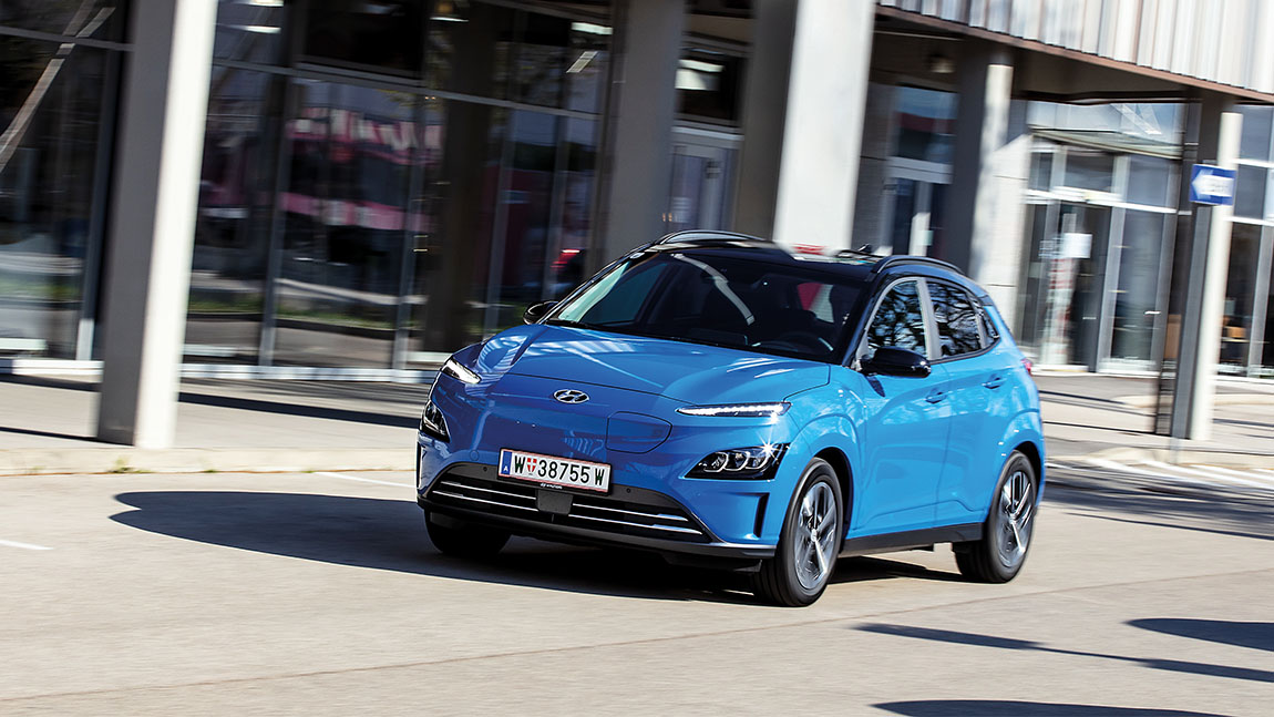 Hyundai Kona Elektro: Blaues Wunder