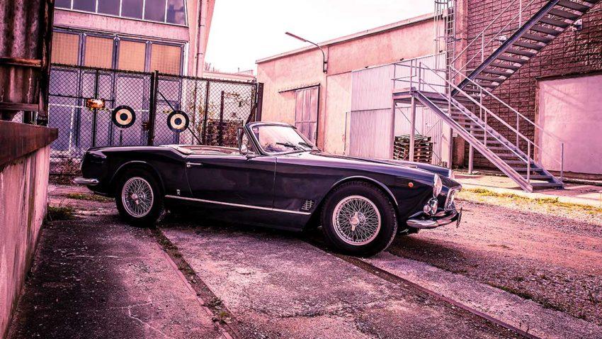Maserati 3500 Spyder: Genie und Schönheit