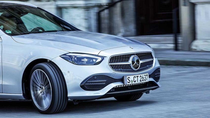 Mercedes-Benz C-Klasse T-Modell: Das Auto, das zu Hause das Licht einschalten kann