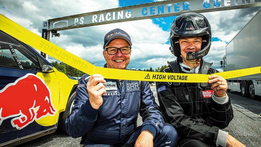 Ur-Quettro: Tracktest im E-Rallye-Auto