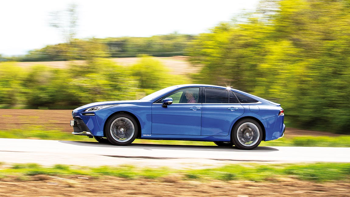 Toyota Mirai: Echt Vollgas im Elektroauto