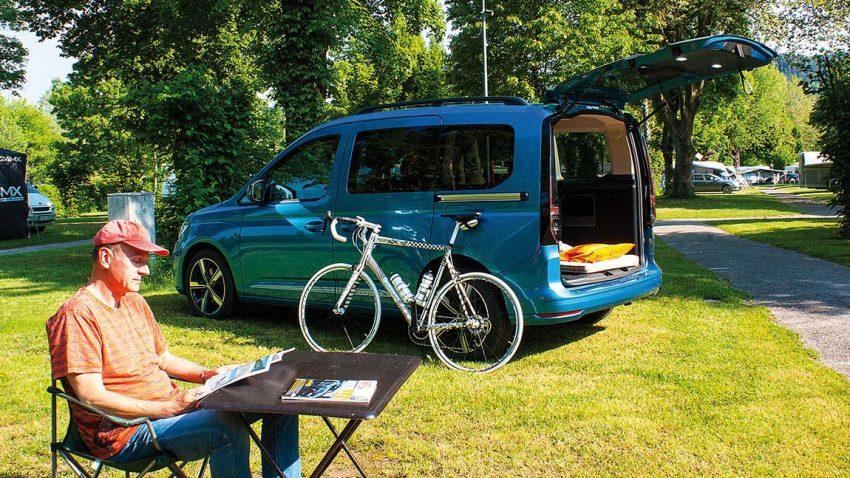 VW Caddy: Jetzt bloß keine halben Berge