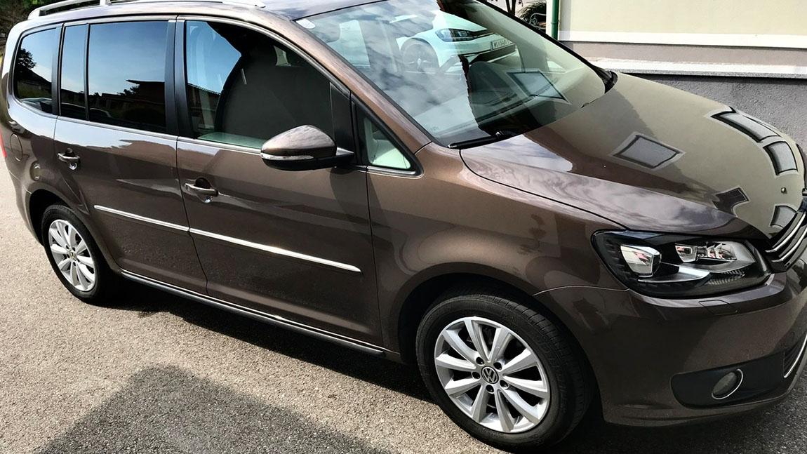 VW Touran 1.4 tsi (verkauft)