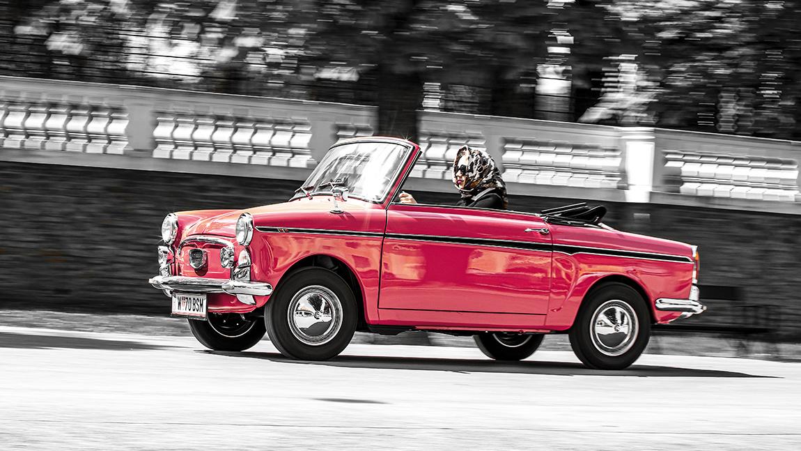 Autobianchi Bianchina Cabrio: Glamour im Kleinen