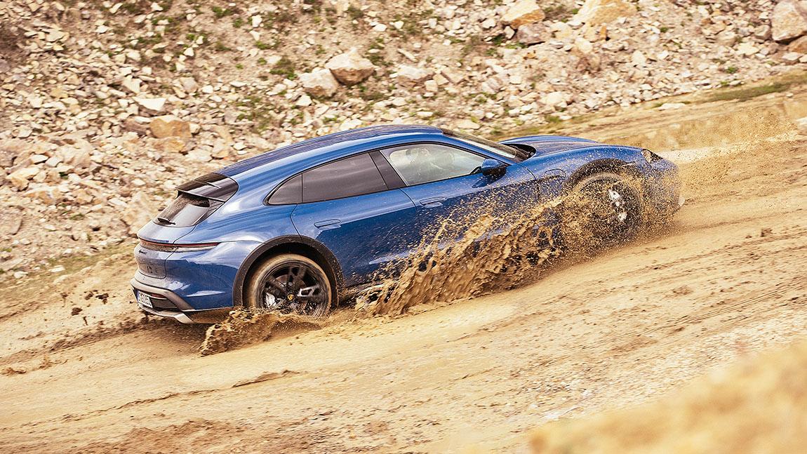 Porsche Taycan Cross Turismo: Es gibt immer einen Ausweg