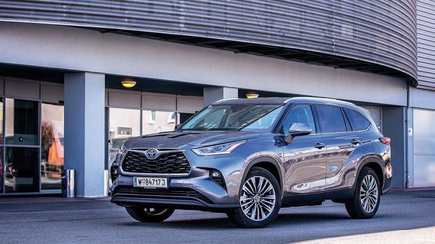 Toyota Highlander: Macht macht auch nix