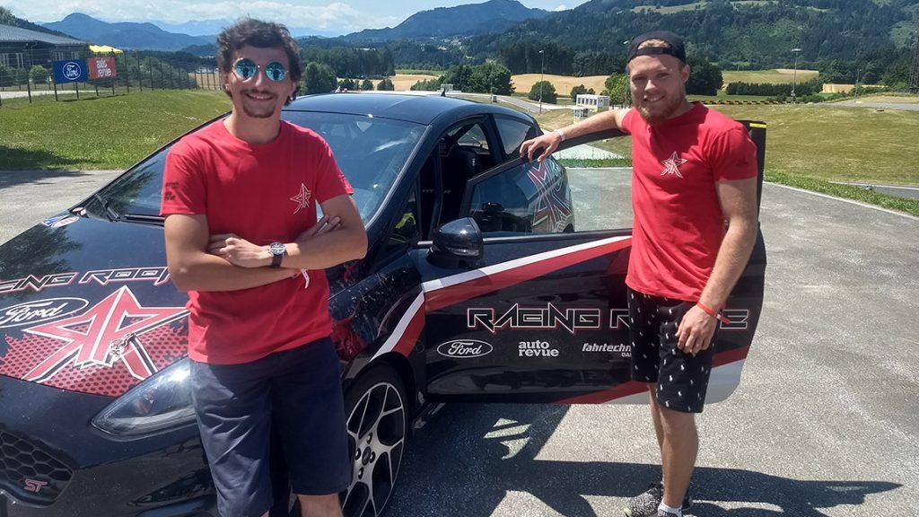 Racing Rookie 2021: Gelassen verewigt