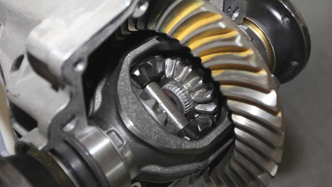 Differentialgetriebe eines Porsche Cayenne