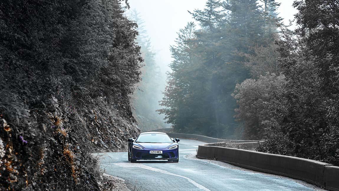 Roadtrip im McLaren GT: Kurvendengeln in den Alpen