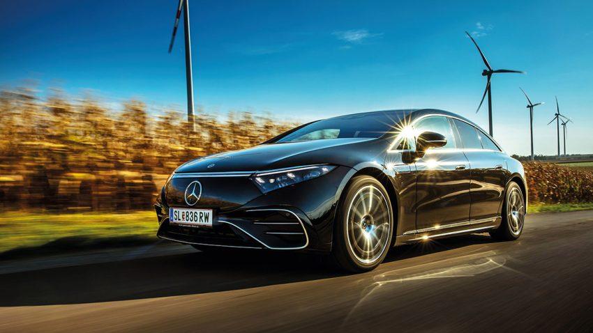 Mercedes-Benz EQS 580 4MATIC: Vom Winde erweht