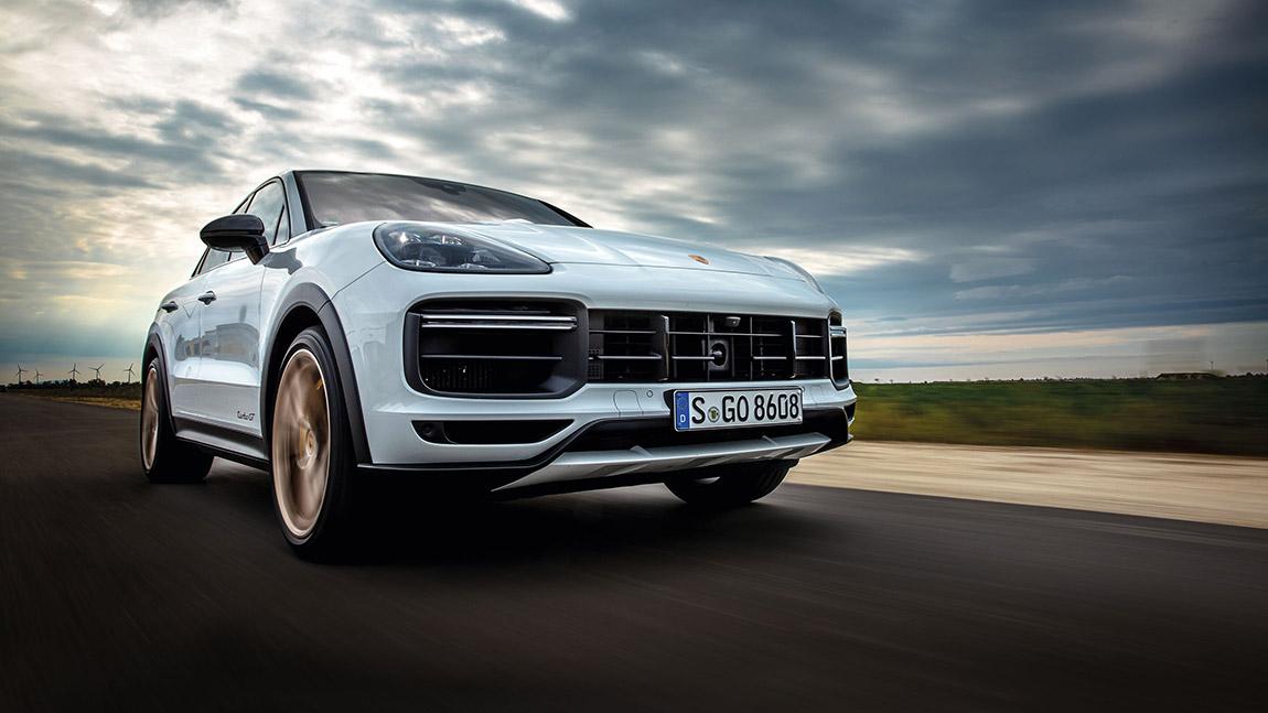 Porsche Cayenne Turbo GT: Huit Knatteradoms, ein Donnerkeil