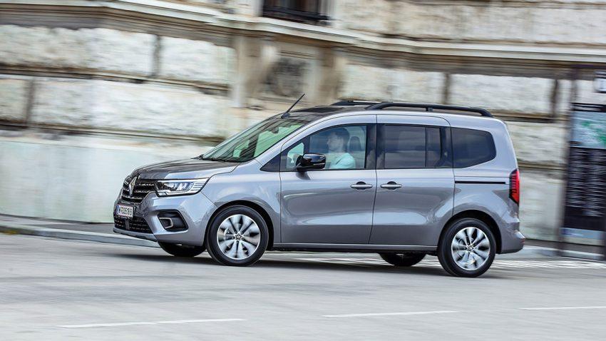 Renault Kangoo Intens dCi 95: Schiebelehre