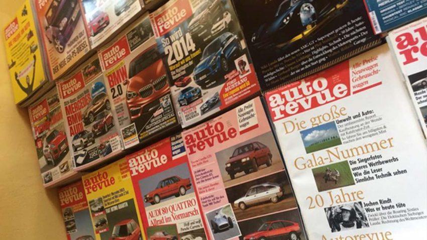 Autorevue Hefte Zeitschrift